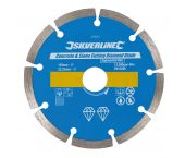 Silverline 633624 Diamantzaagblad - 125 x 22,23 mm - Beton/Steen