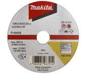 Makita B-45727 Doorslijpschijf - 115 x 22,23 x 0,8mm - RVS