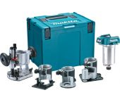 Makita DRT50ZJX3 18V Li-Ion accu bovenfrees / kantenfrees / trimmer body in Mbox