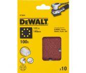 DeWalt DT3004 Vlak schuurvel - K100 - 115 x 140mm (10st) - DT3004-QZ
