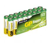 GP Alkaline Super Batterijen - AA - 1,5V (16st) - 03015AS16