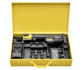 Rems 578015 Mini-Press S Li-Ion 22V accu radiaalpersmachine set (1x 1,5Ah accu) in koffer