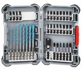 Bosch 2608577147 35-Delige Universeelboren & Schroefbitset in Box L