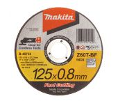 Makita B-45733 Doorslijpschijf - 125 x 22,23 x 0,8mm - RVS - inox