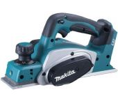 Makita DKP180Y1J 18V Li-Ion Accu schaafmachine body + (1x 1.5Ah accu) in Mbox - 82mm - 2mm