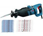 Bosch GSA 1300 PCE Reciprozaag in koffer incl. 20 zaagbladen - 1300W - snelwissel - 0615990EC6