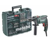 Metabo SBE 650 SET Klopboormachine incl. accessoire set in koffer - 650W - 600671870