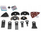 Makita 41-delige multitool accessoires in 2 koffertjes voor DTM51 / DTM41