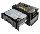 DeWALT DWST1-70728 DS250 Tough System koffer met twee lades  - DWST1-70728