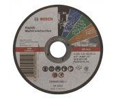 Bosch 2608602385 Rapido Doorslijpschijf - 125 x 22,23 x 1mm - universeel