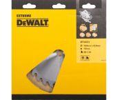 DeWalt DT4031 / DT1002 Extreme Cirkelzaagblad - 184 x 16 x 28T - Hout / Laminaat  - DT4031-QZ