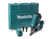 Makita GN900SE 7,2V Li-Ion accu gastacker set (2x 1.0Ah accu) in koffer - 50-90mm