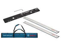 Bosch FSN Kit (2x geleiderails & 1x koppelstuk) in foudraal
