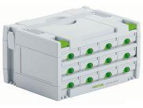 Festool SYS 3-SORT/12 Sortainer mer kleine lades - 491986 - 491986