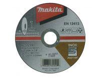 Makita B-12239 Doorslijpschijf - 125 x 22,23 x 1mm - RVS