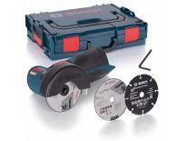 Bosch GWS 10,8-76 V-EC SOLO 10.8V Li-Ion Accu haakse slijper body in L-Boxx - 76mm - koolborstelloos - 06019F2003