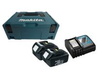 Makita 196693-0 Starterset 18V 2x 3.0Ah accu + oplader in MBox - BL1830  - DC18RC