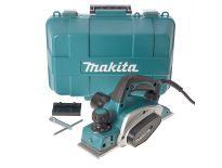 Makita KP0800K Elektrische Schaafmachine in koffer - 620W - 82mm - 2,5mm