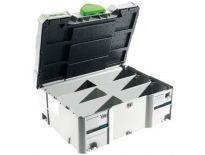 Festool 498889 / SORT-SYS Systainer lege T-loc met bakjes