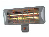 Eurom Q-time 2000 Terras-/Parasolverwarmer - 2000W - 470 x 500 x 2020 mm - 334227