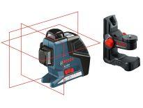 Bosch GLL 3-80 P kruislijnlaser & houder (BM 1) in L-Boxx - 40-80m - 0601063309