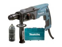 Makita HR2470FT SDS-plus combihamer + snelspanboorkop in koffer - 780W - 2.4J