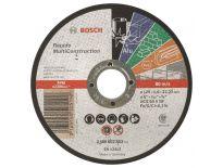 Bosch 2608602383 Rapido Doorslijpschijf - 125 x 22,23 x 1,6mm - universeel