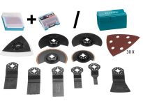 Makita 41 + 1 multitool accessoires in 1 of 2 koffertjes