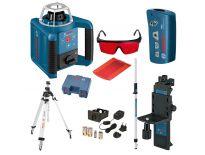 Bosch GRL 300 HV rotatie laser set in koffer + BT 170 HD Statief + GR 240 Meetlat - 061599405U
