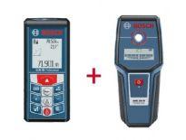 Bosch GLM 80 laser afstandmeter in tas + GMS 100 M detector - 80m - 100m