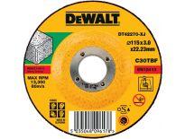 DeWalt DT42270 Doorslijpschijf met verzonken centrum - 115 x 22,23 x 3mm - steen - DT42270-XJ