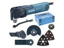 Makita TM3010CX5J multitool set in Mbox + 57 delige accessoiresset - 320W
