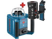 Bosch GRL 300 HV + RC 1 + WM 4 rotatie laser set - 0601061500