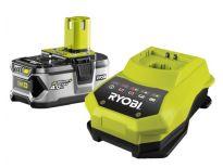 Ryobi RBC18L40 18V Li-Ion accu starterset (1x 4.0Ah) + lader - 5133001912