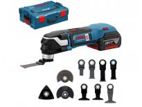 Bosch GOP 18 V-28 Multitool 18V Li-Ion accu multitool set (2x 5,0Ah accu) in L-Boxx - koolborstelloos - 06018B6003