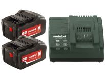 Metabo 685050000 18V Li-Ion accu starterset (2x 4.0Ah) + lader