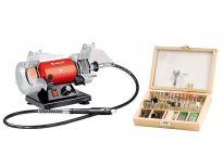 Einhell TH-XG 75 KIT Werkbankslijper Multitool - 1200W  - 4412560
