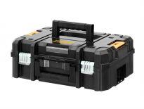 DeWalt DWST1-70703 / N279261 TSTAK-Box II stevige gereedschapskoffer met korte hendel - leeg - N279261