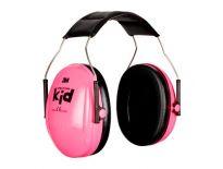 3M Peltor H510AK-442-RE Kid Gehoorbeschermer met hoofdbeugel - roze - OPT1KIDR