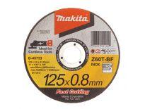 Makita B-45733 Doorslijpschijf - 125 x 22,23 x 0,8mm - RVS - inox