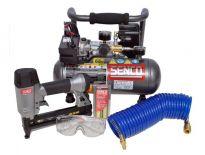 Senco PC0972UK Compressor set PC1010 & Nietmachine SLS 18MG
