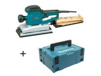 Makita BO4900VJ Vlakschuurmachine in Mbox - 330W - 115 x 232mm