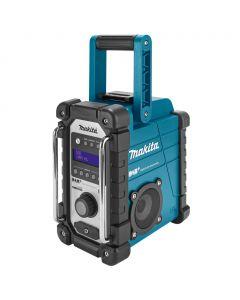 Makita DMR105 DAB / DAB+ / FM bouwradio - netstroom & accu