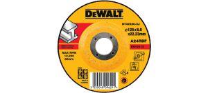 DeWalt DT42320 Afbraamschijf met verzonken centrum - 125 x 6mm - Metaal (25st) - DT42320-XJ