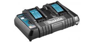 Makita DC18RD 14.4V - 18V Li-Ion Accu duolader met USB laadpoort - 196933-6