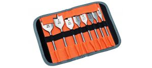 Bahco SB-9529/S8 8 delige speedboren set in etui