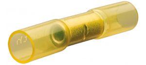 Knipex 9799252 Stootverbinder met krimpkous - 4,0-6,0 mm² - Geel (100st)