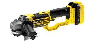 Stanley FMC761M2 18V Li-Ion Accu haakse slijper set (2x 4.0Ah accu) in koffer - 125mm