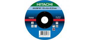 Hitachi 752553 Afbraamschijf - 150 x 6mm - Metaal - A24/30P