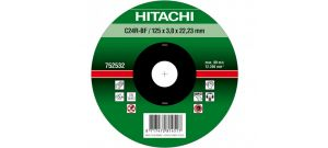 Hitachi 752545 Kom model doorslijpschijf - 230 x 22,23 x 3mm - steen - C24R